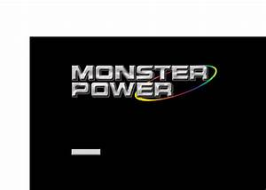 Monster Cable Home Theater System Hts2600 User Guide