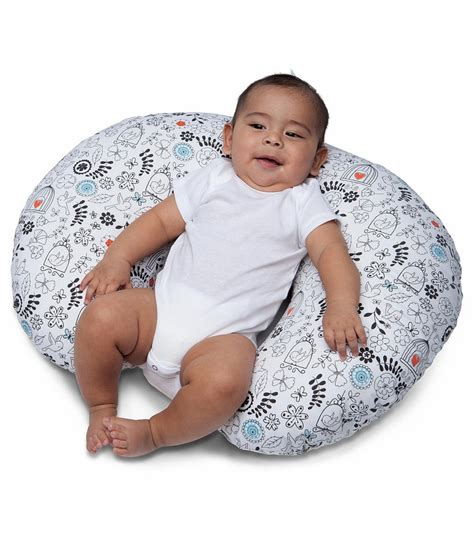 boppy slipcovers boppy nursing pillow with slipcover doodles