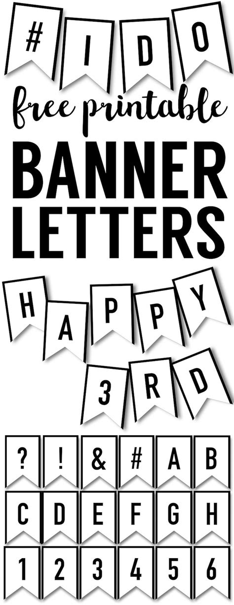 banner templates  printable abc letters