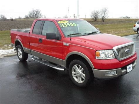 Sell Used 2004 Ford F-150 Lariat Extended Cab Pickup 4