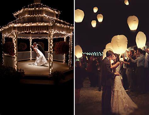 Evening Weddings