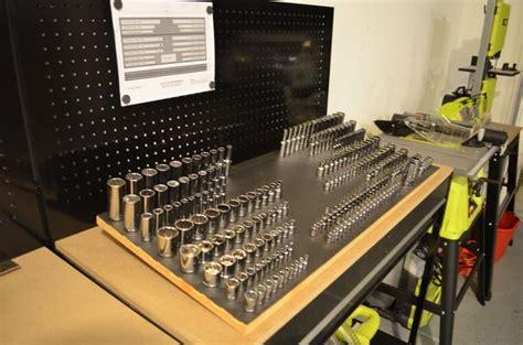 socket drawer magnetic organizer garage pinterest