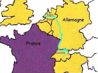Carte Fleuve Rhin by Fleuve Rhin