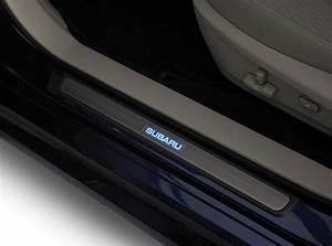 Subaru Outback Illuminated Sill Plates  Part No  H1010aj001