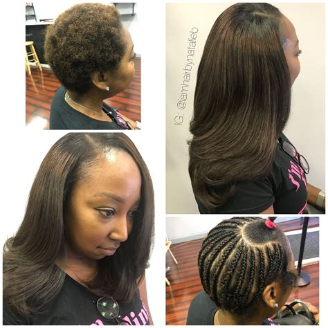 Sew In Weave Hairstyles For Hair by Traditional Sew In Hair Weave With Leave Out This