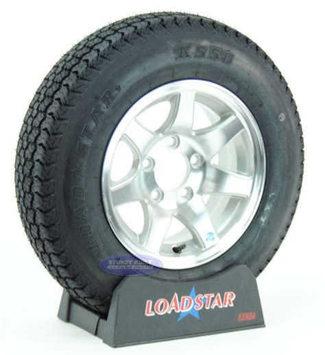 13 Inch Boat Trailer Wheels And Tires by Boat Trailer Tire St175 80d13 On Aluminum Wheel 7 Spoke 5