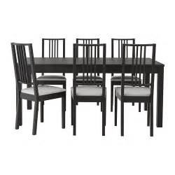 Ikea Kitchen Table And Chairs Set by Bjursta B 214 Rje Table And 6 Chairs Ikea