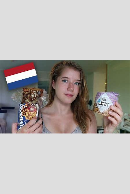 Norwegian Girl Tries Dutch Candy - YouTube