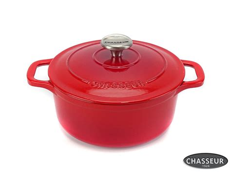 Töpfe Gusseisen Emailliert by Gusseisen Cocotte 20 Cm Rot Kaufen Bei