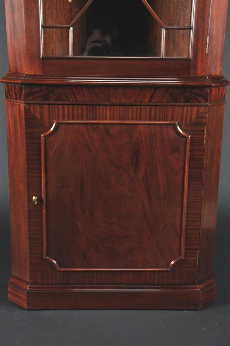 high quality single door mahogany corner cabinet