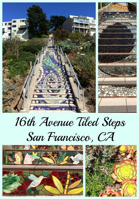 16th avenue tiled steps in san francisco 16th avenue tiled steps a treasure in san francisco