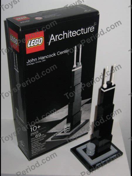 Lego 21001 John Hancock Center Set Parts Inventory And