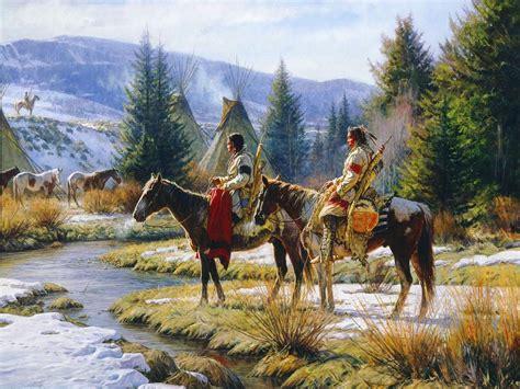 native american western indian art artwork painting