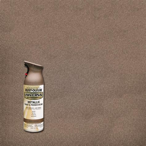 rust oleum stops rust  oz protective enamel metallic
