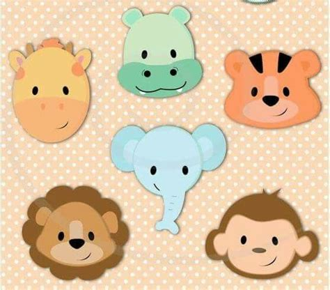 caritas de animalitos de la selva caritas de animales de caritas de animales im 225 genes animales