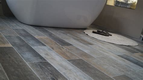 fashionable tile grey hardwood floors trend design