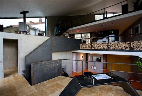 unusual concrete home germany  beautiful houses   world