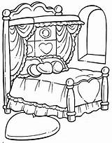 Coloring Bed Pages Hospital Printables Drawing Printable Para Colorear Clipart Getdrawings Getcolorings Cama sketch template