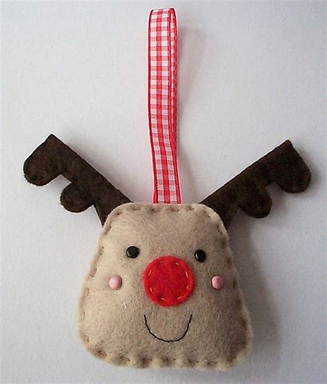 christmas reindeer ornament craft kit by paper and string