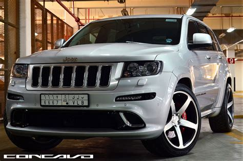 slammed jeep srt8 22 quot wheels but not lowered jeep garage jeep forum