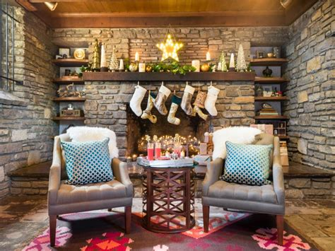 interior design christmas decorating for your home excellent traditional house interior applying decorating ideas for christmas with socks on