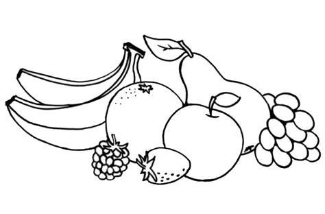 contoh gambar lomba mewarnai buah buahan