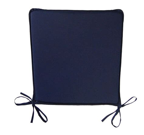 plain square seat pad outdoor garden dining kitchen chair