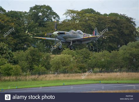 Spitfire Landing Stock Photos And Spitfire Landing Stock