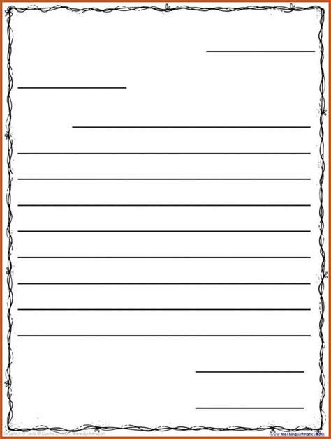 Friendly Letter Template Friendly Letter Template Harfiah