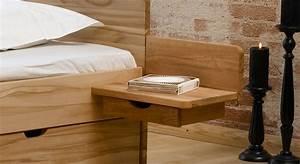 Bett Mit Nachttisch : nachttisch zum montieren aus kiefer norwegen ~ Frokenaadalensverden.com Haus und Dekorationen