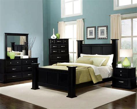 master bedroom paint ideas  dark furniturejpg