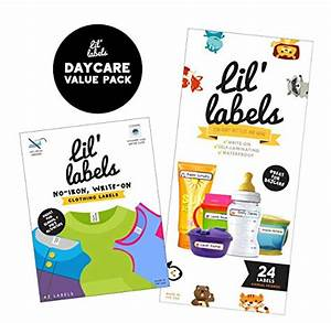 lil labels daycare value pack write on name labels With clothing labels for daycare