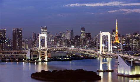 japan rainbow bridge tokyo tower wallpaper funonsite