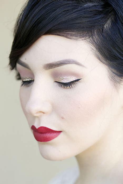 Makeup Monday Holiday Glitter Makeup Tutorial Keiko Lynn