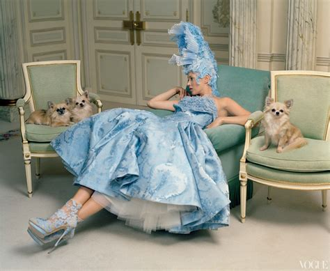 Visuelle Kate Moss Tim Walker For Vogue April