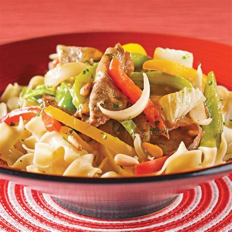 chinois fin cuisine sauté de boeuf aux poivrons et chou chinois recettes