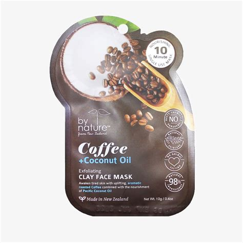 Coconut oil is utilized in daily skin care routine, it has capability to let your skin stay hydrated and glowing. Exfoliating Coffee + Coconut Oil Clay Face Mask - bynature skincare - Global