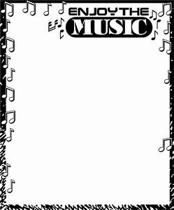 Music Clipart Border | Clipart Panda - Free Clipart Images