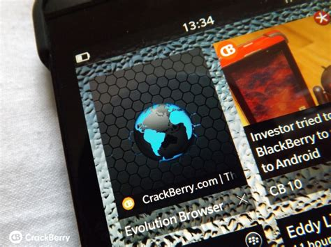 evolution browser for blackberry 10 gets updated with a