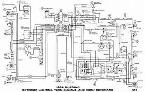 1965 Mustang Wiring Diagram For Lighting  1965  Free