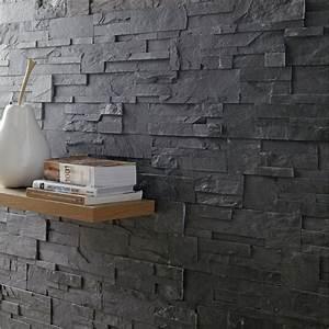 appareillages electriques plaquettes de parement 7 With mur interieur en pierre leroy merlin