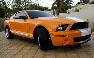 Grabber Orange 2009 Ford Mustang Shelby GT-500 Coupe - MustangAttitude.com Photo Detail