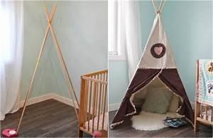 Zelt Selber Bauen : indianer tipi zelt f rs kinderzimmer selber bauen kreative ideen tipps ~ Eleganceandgraceweddings.com Haus und Dekorationen
