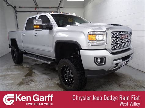 pre owned  gmc sierra hd denali crew cab pickup