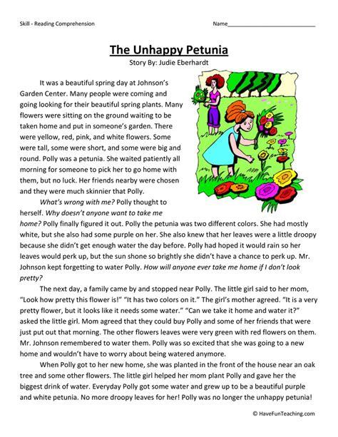 4th Grade Reading Comprehension Worksheets Have Fun Teaching  Halloween Worksheets Have Fun