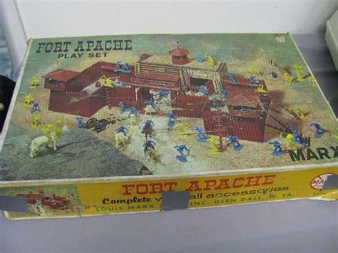 Vintage Marx Fort Apache Playset