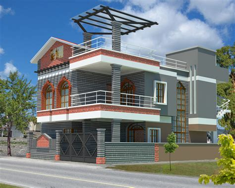 top 3d architecture modeling exterior homes home design