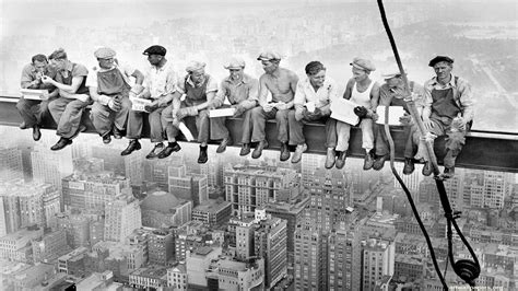 lunch atop a skyscraper lunch atop a skyscraper 1932 wallpaper poster photography charles c ebbets