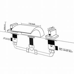 Installation Instructions For Memphis Deck Mount Double