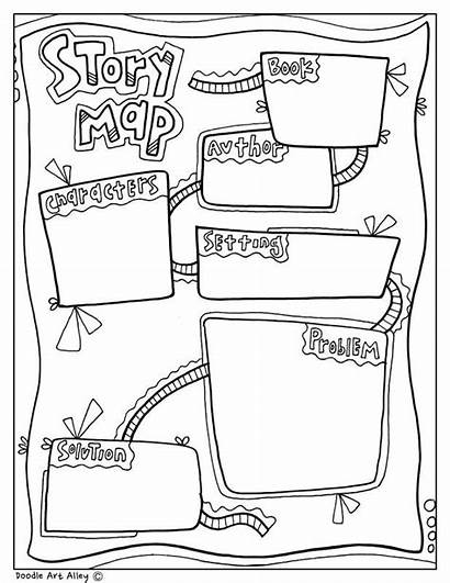 Graphic Organizer Story Map Writing Organizers Doodle